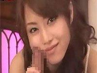 吉沢明歩が淫語と顔コキのみで射精させてくれる主観映像。