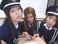 痴女の達人、乃亜! 紅音ほたる! 田中梨子! ドS女ポリスがチンコ観察、淫語取り調べ、強制オナニーほか、いっぱい。