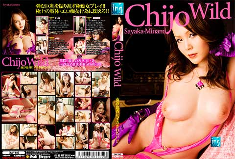 「Chijo Wild 南沙也香にイカされたい!!」拡大パッケージ画像