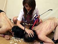 コギャル女子校生の罠 暴虐の奴隷狩り