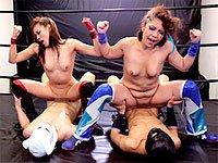 筋肉美人プロレスラー デストロイシスターズのキャプチャ画像