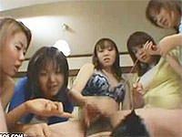 M男をアナル調教した成果を姉妹にみせびらかす美人姉っ! 吉沢ミズキ