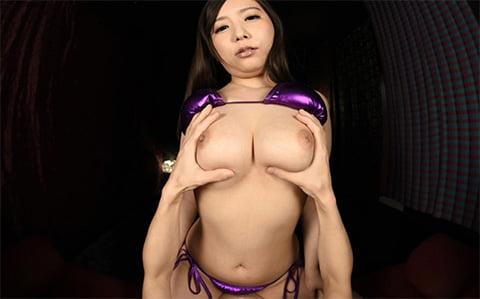 笹倉杏のおっぱいパブ嬢