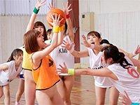 【VR-1グランプリ エントリー作品(9)】【VR】10人連続ナマ中出しSEX ノーパンバスケットボール
